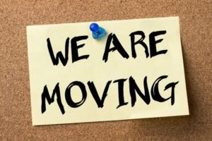 Dr. Brown is moving!